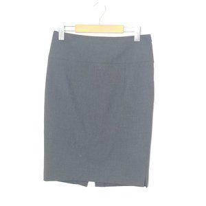 Zara Basic | Dark Gray Pencil Skirt Side Zip 4